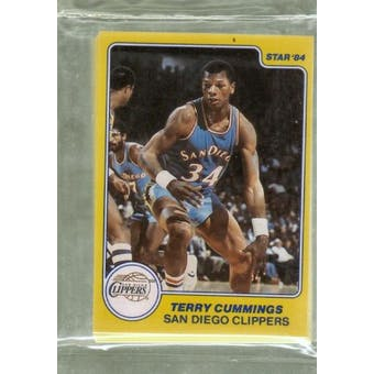 1983/84 Star Co. Basketball All-Rookie Team Bagged Set