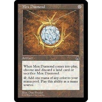 Magic the Gathering Stronghold Single Mox Diamond - SLIGHT PLAY (SP)