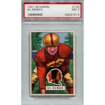 1951 Bowman #143 Al Demao PSA 7 *1014 (Reed Buy)