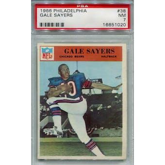 1966 Philadelphia #38 Gale Sayers RC PSA 7 *1020 (Reed Buy)
