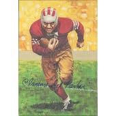 "Clarence ""Ace"" Parker Autographed Goal Line Art Card JSA #KK52303 (Reed Buy)"