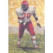 Bobby Bell Autographed Goal Line Art Card JSA #KK52310 (Reed Buy)