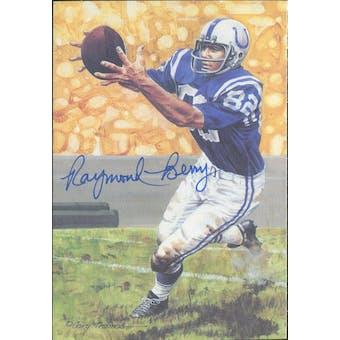 Raymond Berry Autographed Goal Line Art Card JSA #KK52311 (Reed Buy)