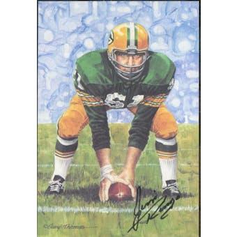Jim Ringo Autographed Goal Line Art Card JSA #KK52319 (Reed Buy)