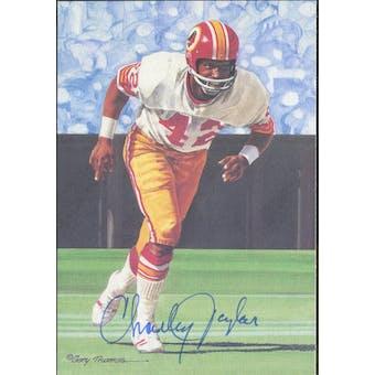 Charley Taylor Autographed Goal Line Art Card JSA #KK52320 (Reed Buy)