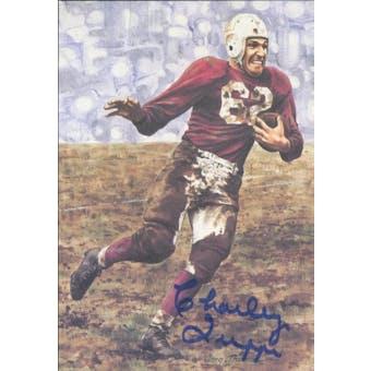 Charley Trippi Autographed Goal Line Art Card JSA #KK52321 (Reed Buy)
