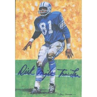 "Dick ""Night Train"" Lane Autographed Goal Line Art Card JSA #KK52332 (Reed Buy)"