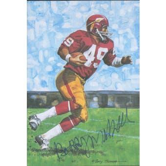Bobby Mitchell Autographed Goal Line Art Card JSA #KK52333 (Reed Buy)