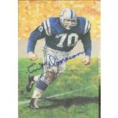 Art Donovan Autographed Goal Line Art Card JSA #KK52342 (Reed Buy)