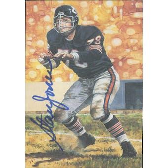 Stan Jones Autographed Goal Line Art Card JSA #KK52346 (Reed Buy)