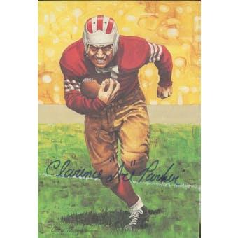 "Clarence ""Ace"" Parker Autographed Goal Line Art Card JSA #KK52349 (Reed Buy)"