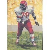 Bobby Bell Autographed Goal Line Art Card JSA #KK52356 (Reed Buy)