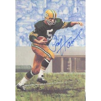 Paul Hornung Autographed Goal Line Art Card JSA #KK52360 (Reed Buy)