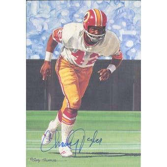 Charley Taylor Autographed Goal Line Art Card JSA #KK52366 (Reed Buy)