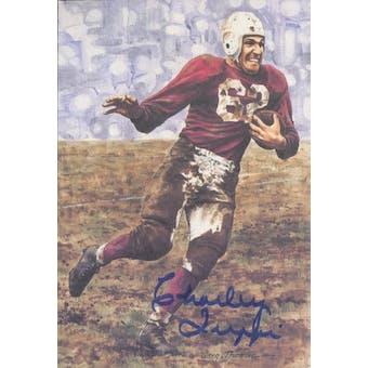 Charley Trippi Autographed Goal Line Art Card JSA #KK52367 (Reed Buy)