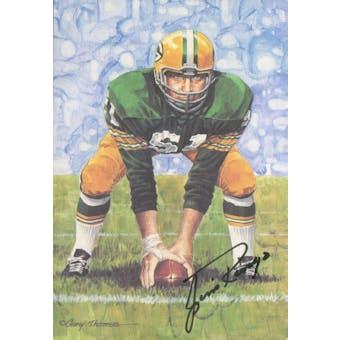 Jim Ringo Autographed Goal Line Art Card JSA #KK52378 (Reed Buy)