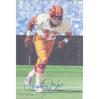 Charley Taylor Autographed Goal Line Art Card JSA #KK52379 (Reed Buy)