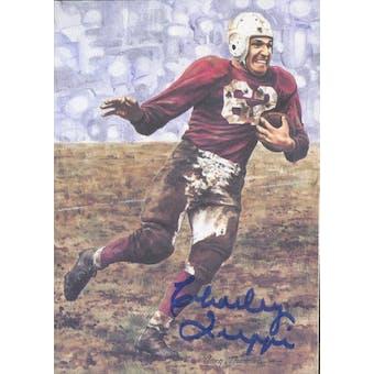 Charley Trippi Autographed Goal Line Art Card JSA #KK52380 (Reed Buy)