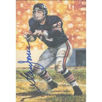 Stan Jones Autographed Goal Line Art Card JSA #KK52388 (Reed Buy)