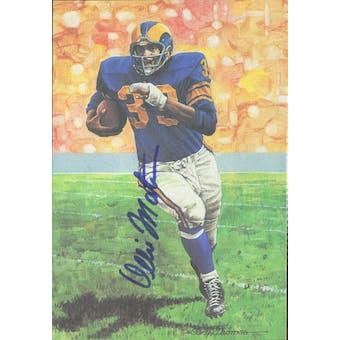 Ollie Matson Autographed Goal Line Art Card JSA #KK52390 (Reed Buy)
