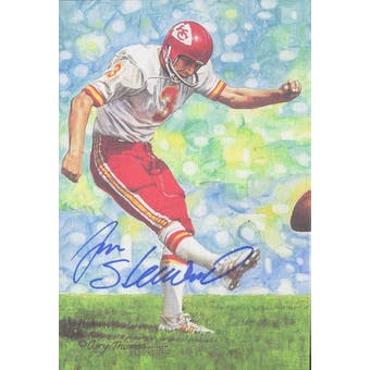 Jan Stenerud Autographed Goal Line Art Card JSA #KK52401 (Reed Buy)