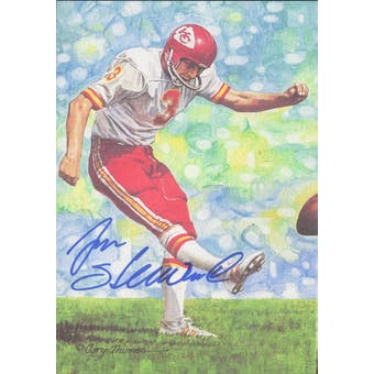 Jan Stenerud Autographed Goal Line Art Card JSA #KK52402 (Reed Buy)