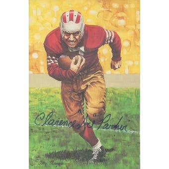 "Clarence ""Ace"" Parker Autographed Goal Line Art Card JSA #KK52407 (Reed Buy)"