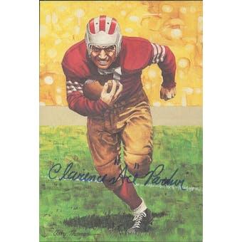 "Clarence ""Ace"" Parker Autographed Goal Line Art Card JSA #KK52408 (Reed Buy)"
