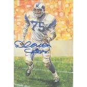 Deacon Jones Autographed Goal Line Art Card JSA #KK52413 (Reed Buy)