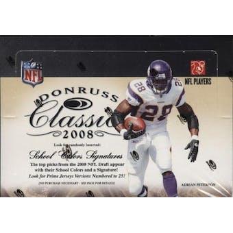 2008 Donruss Classics Football Hobby Box