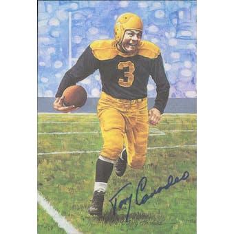 Tony Canadeo Autographed Goal Line Art Card JSA #KK52416 (Reed Buy)