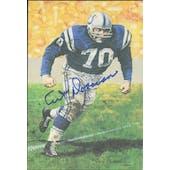 Art Donovan Autographed Goal Line Art Card JSA #KK52419 (Reed Buy)