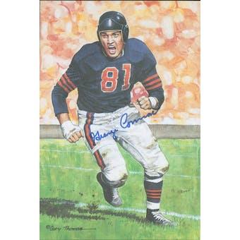 George Connor Autographed Goal Line Art Card JSA #KK52425 (Reed Buy)