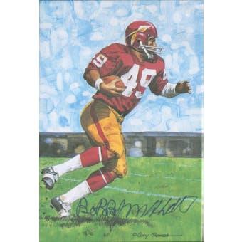 Bobby Mitchell Autographed Goal Line Art Card JSA #KK52439 (Reed Buy)