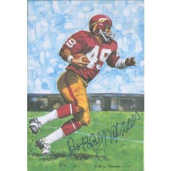 Bobby Mitchell Autographed Goal Line Art Card JSA #KK52441 (Reed Buy)