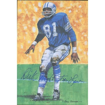 "Dick ""Night Train"" Lane Autographed Goal Line Art Card JSA #KK52457 (Reed Buy)"