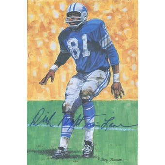 "Dick ""Night Train"" Lane Autographed Goal Line Art Card JSA #KK52458 (Reed Buy)"