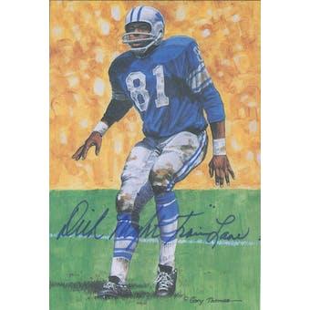 "Dick ""Night Train"" Lane Autographed Goal Line Art Card JSA #KK52459 (Reed Buy)"