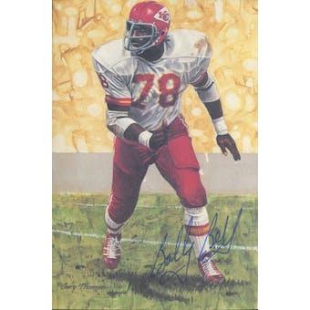 Bobby Bell Autographed Goal Line Art Card JSA #KK52463 (Reed Buy)