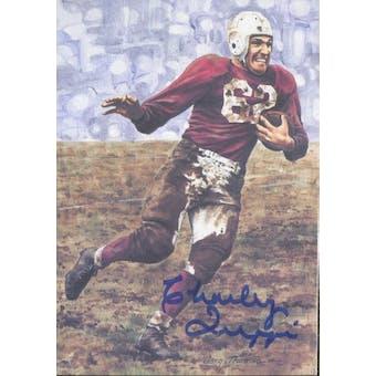 Charley Trippi Autographed Goal Line Art Card JSA #KK52474 (Reed Buy)