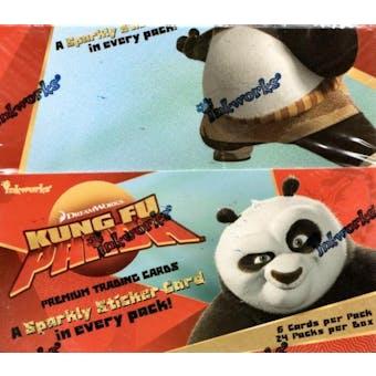 Kung Fu Panda Hobby Box (2008 InkWorks)