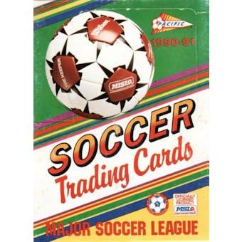 1990/91 Pacific Major League Soccer Wax Box(MISL)