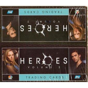 Heroes Season 2 Hobby Box (2008 Topps)