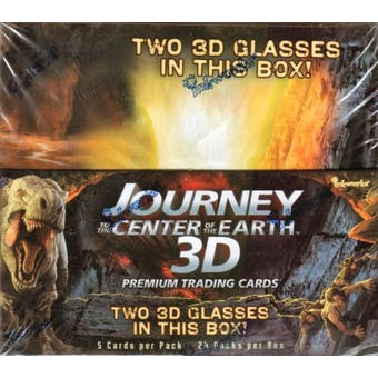 Journey to the Center of the Earth Trading Cards Box (2008 InkWorks)