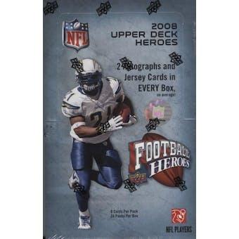 2008 Upper Deck Heroes Football Hobby Box