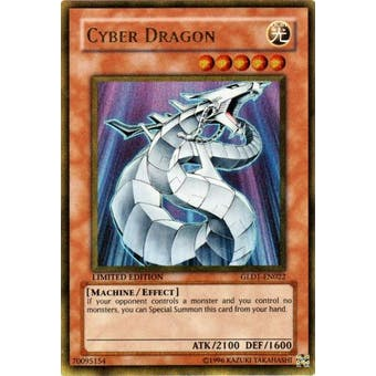 Yu-Gi-Oh Gold Series 1 Single Cyber Dragon Ultra Rare