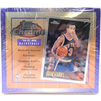 1996/97 Topps Chrome Basketball Hobby Box (Reed Buy)