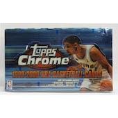 1999/00 Topps Chrome Basketball Hobby Box (Reed Buy)