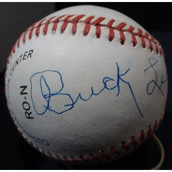 Buck Leonard Autographed NL Giamatti Baseball JSA KK52674 (Reed Buy)