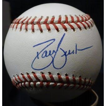 David Justice Autographed NL White Baseball JSA KK52679 (Reed Buy)